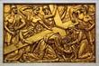Jésus Christ torturé et mis à mort sur la croix