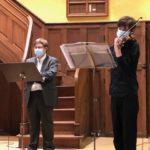 Méditation musicale avec un jeune violoniste