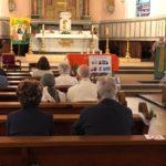 Demande de pardon avec le prêtre Jean Paul Wihlm