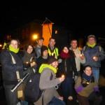 Pèlerins dans la nuit de Sélestat