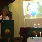 Bénédiction sur les défenseurs des Droits de l'Homme par Marianne Prigent, pasteur.