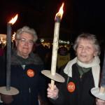 Marche aux flambeaux 2015: l'ACAT est présente.