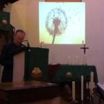 Lecture de 1 Rois 19, 11-14 par le Père René Frison.