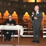 F. Walter accueille JP. Willaime conférencier